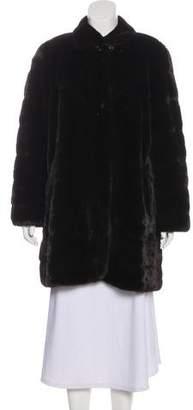 J. Mendel Mink Fur Short Coat
