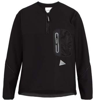 And Wander - Fleece Sweatshirt - Mens - Black