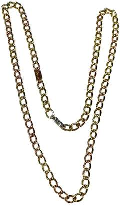 Pomellato Yellow gold long necklace