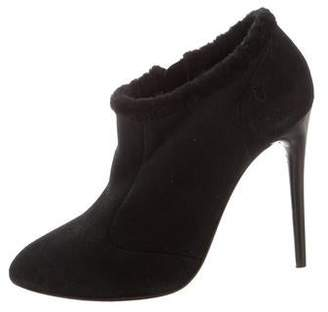 Nina Ricci Suede Ankle Booties