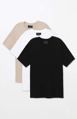 adidas Pacsun Three Pack Fenwick Oversized T-Shirt