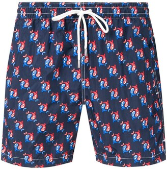 Eleventy fish swim shorts
