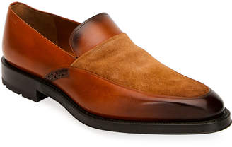 Bally Men's Bassy Leather Slip-On Shoes