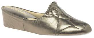 Relax - Bronze 'Dulcie' Leather Slippers
