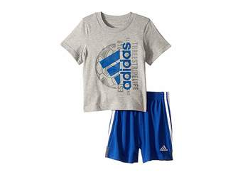 separation shoes 6223d ba0e6 adidas Kids Cotton Tee Set (Infant)