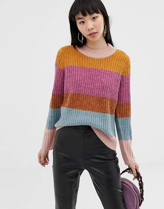 Ichi MULTICOLOR Stripe Sweater