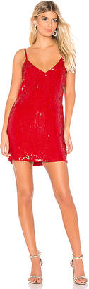 Karina Grimaldi Bette Sequin Mini Dress