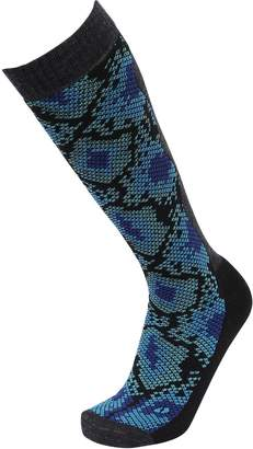 Snake Printed Winter Sports Tall Socks