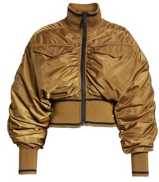 Ivy Park R) Military Flight Crop Bomber Jacket