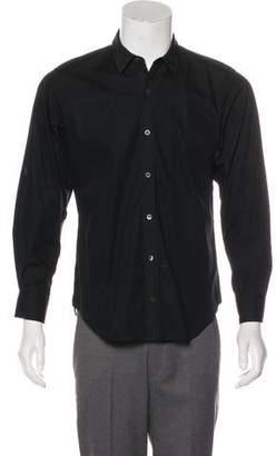 Dries Van Noten Long Sleeve Button-Up Shirt
