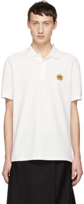 Burberry White Densford Polo