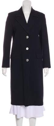 Max Mara Wool-Blend Long Coat