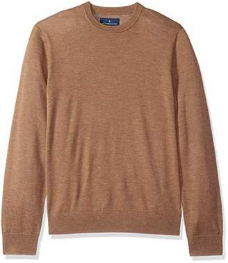 Buttoned Down Men's Italian Merino Wool Lightweight Cashwool Crewneck Sweater