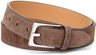 Donald J Pliner FRANCO, Distressed Suede Belt