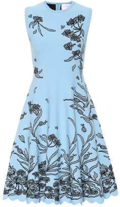Carolina Herrera Jacquard midi dress