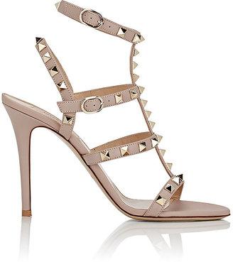 Valentino Women's Rockstud Multi-Strap Sandals $1,045 thestylecure.com