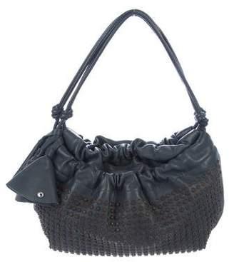 Sonia Rykiel Studded Leather Hobo