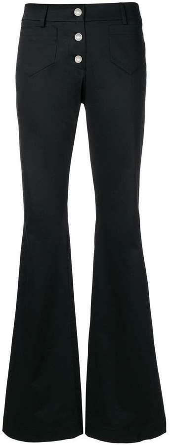 retro flared jeans