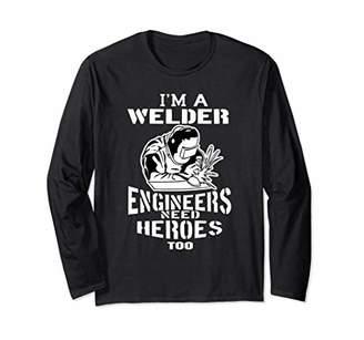Craftsman Electro Welding Workshop Weld Long Sleeve T-Shirt