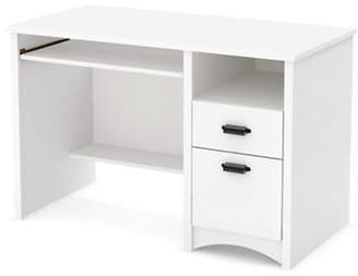 South Shore Gascony Computer Desk with Keyboard Tray