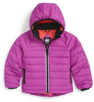 Girl's Canada Goose 'Bobcat' Packable Down Coat $395 thestylecure.com