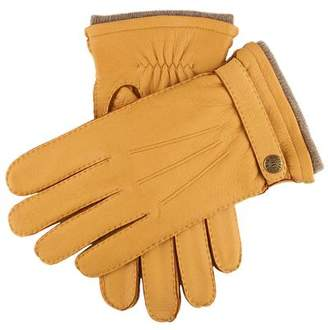 Dents Gloves Dents Gloucester Cashmere Lined Deerskin Gloves in Tan