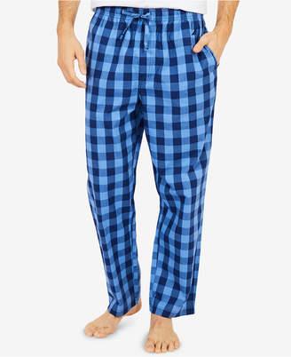 Nautica Men's Buffalo Plaid Cotton Pajama Pants