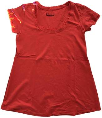 Barbara Bui Red Cotton Top for Women