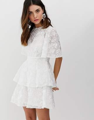 Keepsake wild love ruffle mini dress