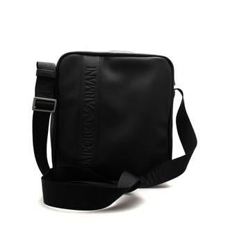Emporio Armani Men's Logo Messenger Bag