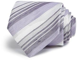 John Varvatos Star USA Dusty Multi Stripe Classic Tie $98 thestylecure.com