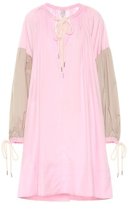 Lee Mathews Elsie cotton-blend tunic dress