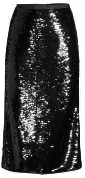 Max Mara Tartina Sequined Pencil Skirt