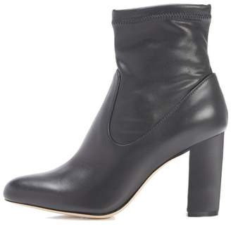 Marion Parke Kate | Eco Nappa And Leather Block Heel Bootie