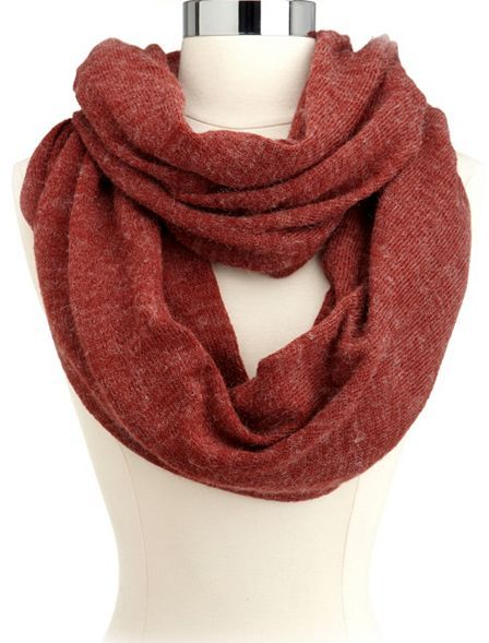 Charlotte Russe Basic Knit Infinity Scarf