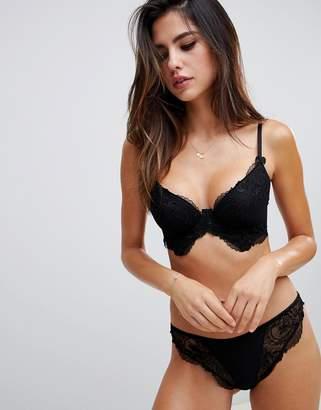 Asos DESIGN Kate lace hipster bikini bottom