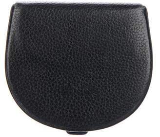 Longchamp Leather Mini Clutch