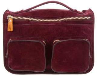 Anya Hindmarch Suede & Leather Ripley Satchel