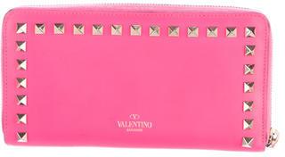 ValentinoValentino Rockstud Continental Wallet