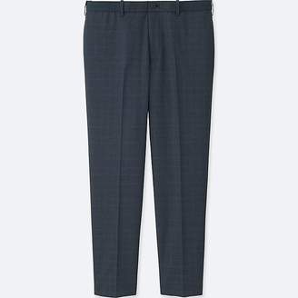 Uniqlo Men's Relaxed Ankle-length Pants (wool-like)
