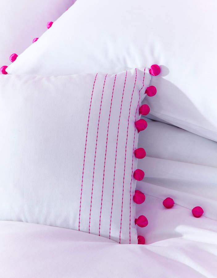 Accessorize Pom Pom Cushion
