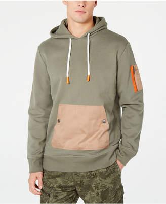 American Rag Men Woven Pocket Hoodie