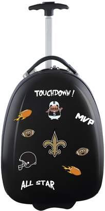 Youth New Orleans Saints Wheeled Pod Luggage