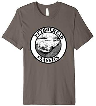 Petrolhead Classic vintage Car T-Shirt Classics Tee