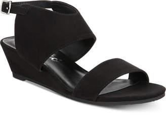 Callisto Bronzer Slingback Wedge Sandals