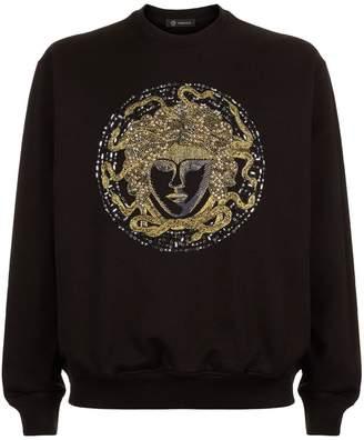 Versace Crystal Medusa Sweatshirt