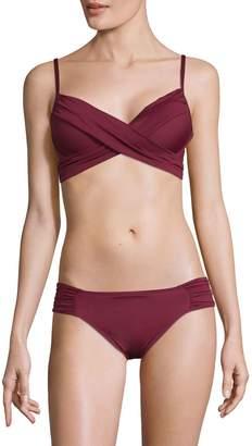 La Blanca Wrap Underwire Bikini Top