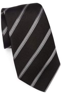 Emporio Armani Stripe Silk Tie