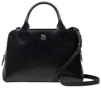 Radley Millbank Leather Medium Grab Bag, Black