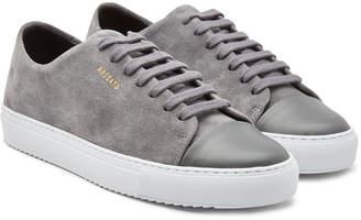 29b6a3b0785e Axel Arigato Cap-Toe Suede Platform Sneakers
